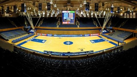 Step inside Cameron Indoor Stadium