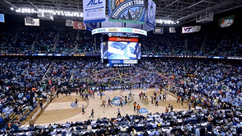 While we're on basketball, go to the ACC tournament