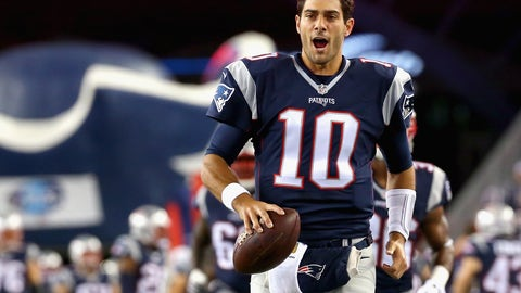 Keep him until Tom Brady retires