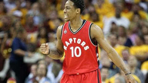Toronto Raptors: DeMar DeRozan, SG