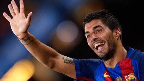 Luis Suarez -- Barcelona