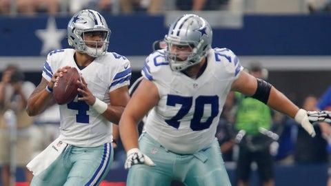 Dallas' offensive line will negate Green Bay's pass rush