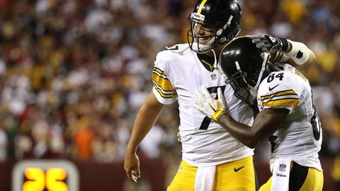 Steelers (+3) over RAVENS (Over/under: 43)