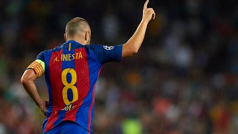 Andres Iniesta - Barcelona