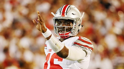 Ohio State's offense starts slow