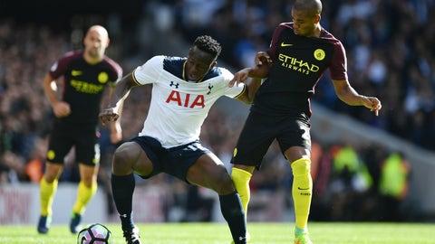 Defensive midfield: Victor Wanyama