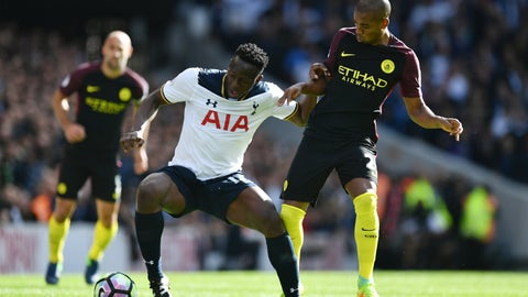 Defensive midfield: Victor Wanyama