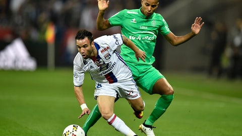 Mathieu Valbuena -- Lyon