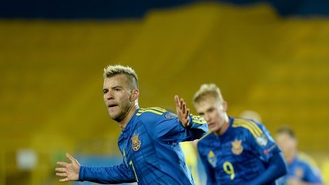 Andriy Yarmolenko -- Dynamo Kiev