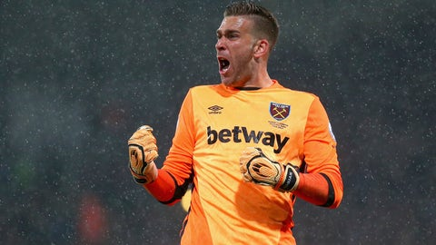 Finally a clean sheet for West Ham