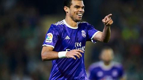 Pepe, Real Madrid