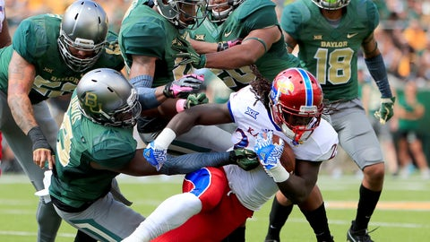 Baylor (6-0), re-rank: 7,007