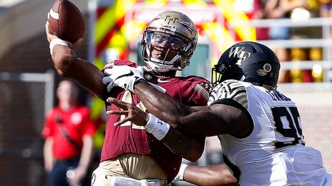 Florida State (5-2), re-rank: 14