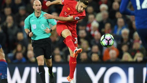 Adam Lallana's importance to Liverpool can't be understated