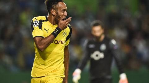 Pierre-Emerick Aubameyang -- Borussia Dortmund
