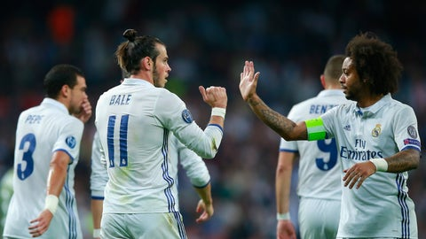 Real Madrid (Previously: 4)