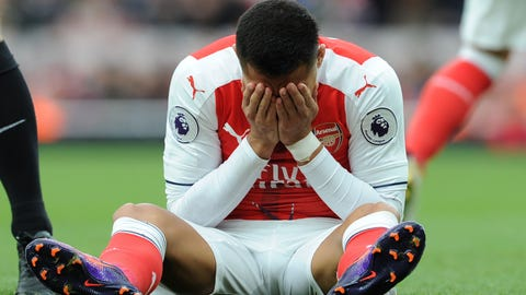 Another poor showing for Arsenal