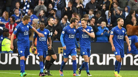 Another home win for Leicester