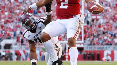 Jalen Hurts once again will not look like a true freshman