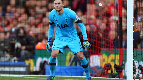 Goalkeeper: Hugo Lloris