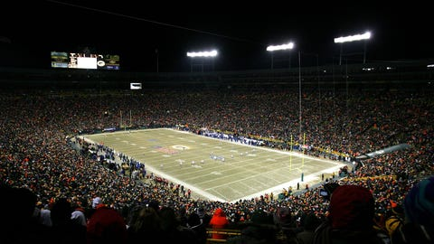 Watch an NFL conference championship game from your team's home stadium