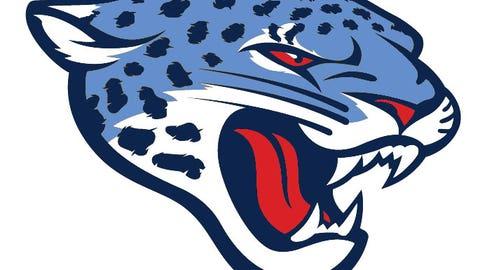 Jacksonville Jaguars (Titans colors)
