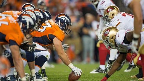 C: James Ferentz, Denver Broncos: 6-2, 285 pounds