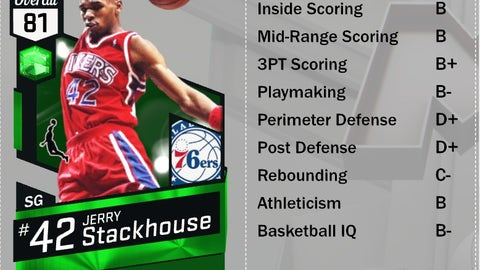 Emerald Jerry Stackhouse (SG, 81)