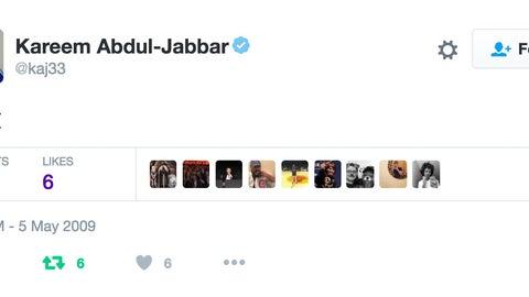 Kareem Abdul-Jabbar: Testing