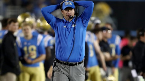 Jim Mora hasn't lost anything, and you can't say he has.