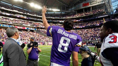 Minnesota Vikings (5-2): 5 covers ATS