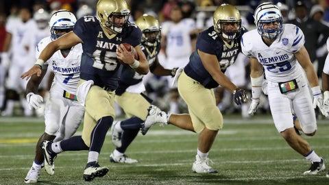 South Florida 52, No. 22 Navy 45 (Friday)