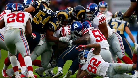 The New York Giants' offense is also quite bad