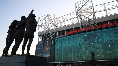 Old Trafford (Manchester United): €114M