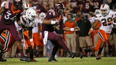 No. 19 Virginia Tech 24, Duke 21