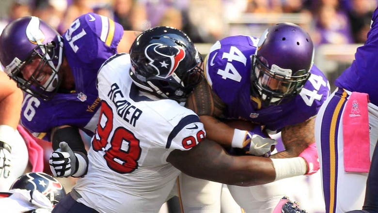 Houston's D.J. Reader ready to step in for Vince Wilfork