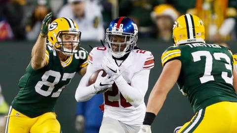 The Giants won't win the turnover battle