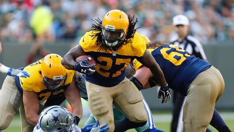 Eddie Lacy, RB, Green Bay Packers (Alabama)