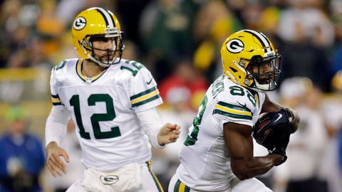 The Packers will be unbalanced on offense