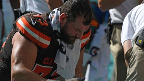 Joe Thomas, Browns and ex-Badgers tackle