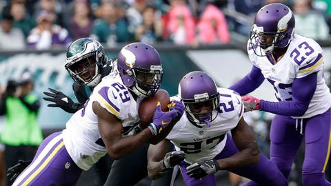 Xavier Rhodes will take Alshon Jeffery out of the game