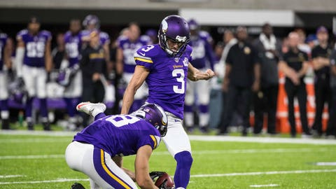 What will happen with Blair Walsh?