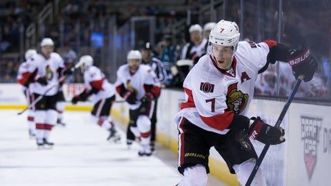 Kyle Turris, F, Ottawa Senators