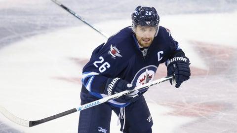 Blake Wheeler, F, Winnipeg Jets
