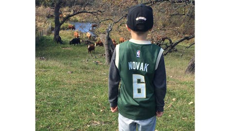 Steve Novak, Bucks forward