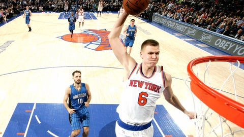 Kristaps Porzingis, PF, New York Knicks