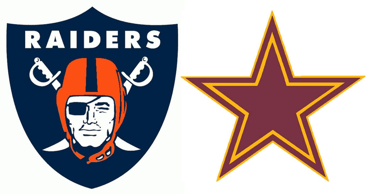 All 32 Nfl Team Logos In One Of Their Division Rival S