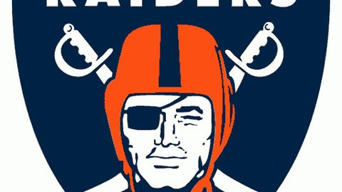 Oakland Raiders (Broncos colors)