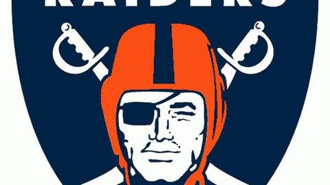 Oakland Raiders (Broncos colors)