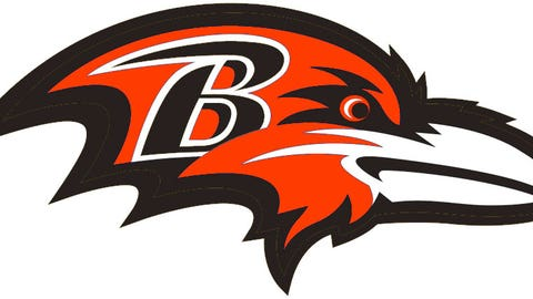 Baltimore Ravens (Browns colors)
